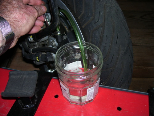 Méthode pour purger les freins