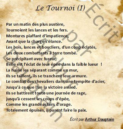 Le Tournoi I