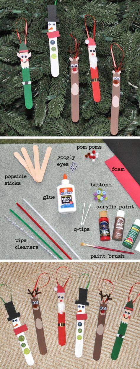 Idée pinterest : réaliser des objets décoratifs de Noël en mode récup