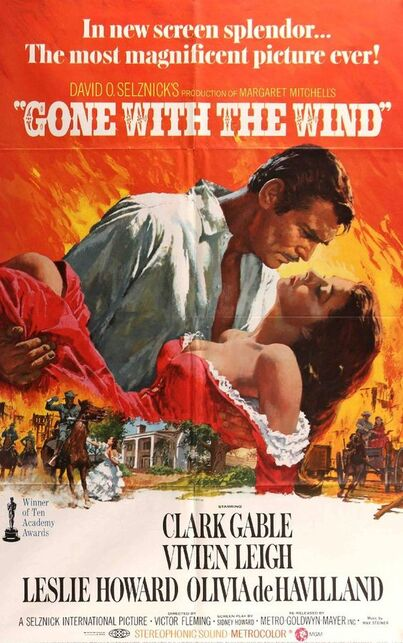 GONE WITH THE WIND 1971 BOX OFFICE