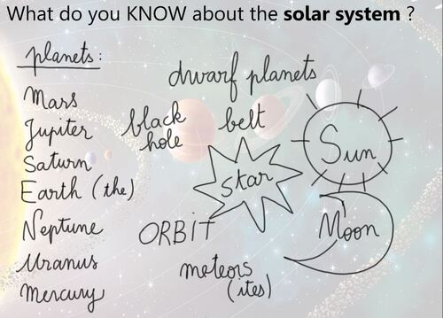 CM2SC - The Solar System: introduction