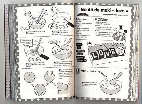 un amour bento2 maki love