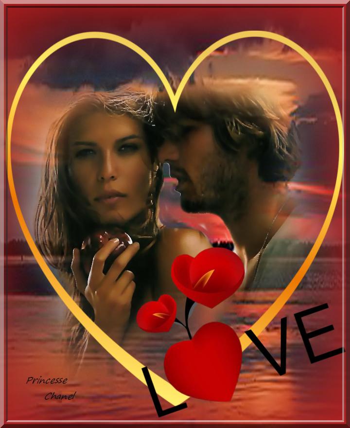 L amour avec un grand coeur