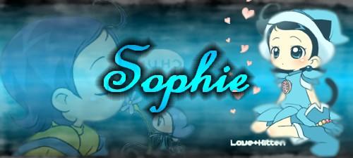 Sophie (Montage par moi)