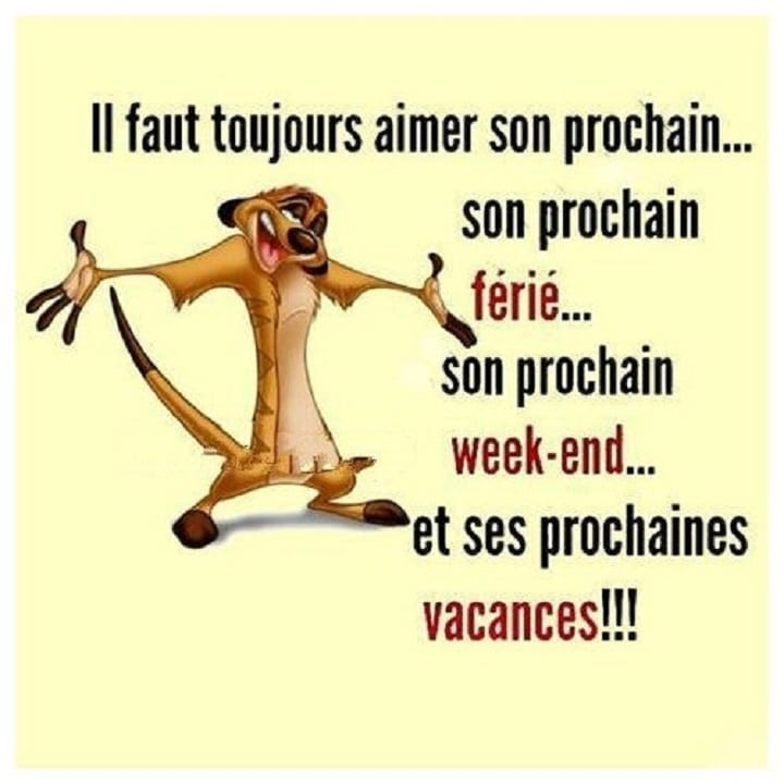 Il faut toujours aimer son prochain - Humour-France.fr