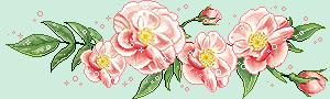 Papier à lettres **Roses**