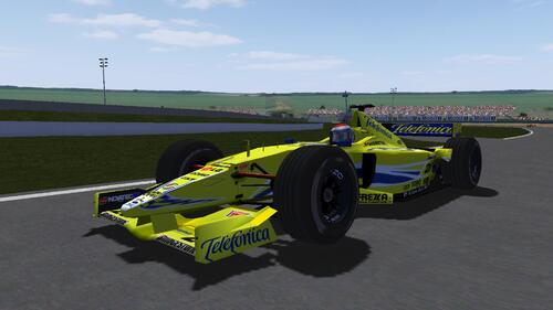European Minardi Ford