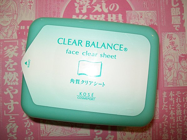Kose clear balance aha sheet masks 1