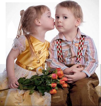 Tubes St-Valentin Couples Enfants