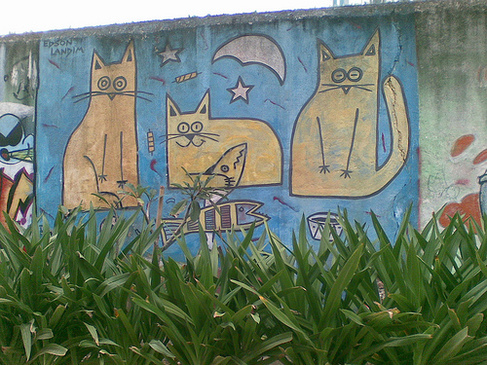 05 - Art street, cats suite