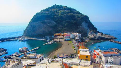 SANT ANGELO D'ISCHIA (ITALIE)   (Voyages)