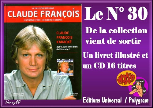 N° 30 DE LA COLLECTION OFFICIELLE
