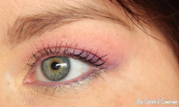 maquillage, makeup, yeux, pastel, les secrets d'esmerine