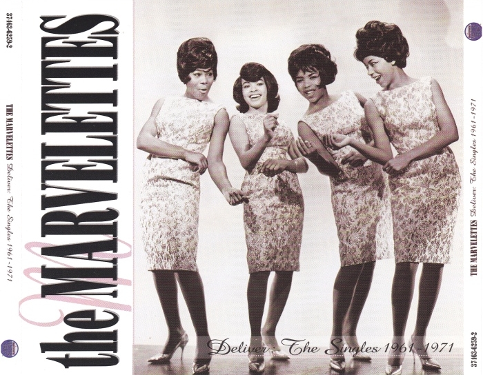 """The Marvelettes : CD """" Deliver The Singles 1961-1971 """" Motown Records Company 37463-6259-2 [ US ]"""