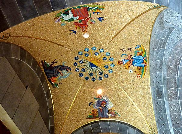 Ste Anne de Beaupré basilique plafond b