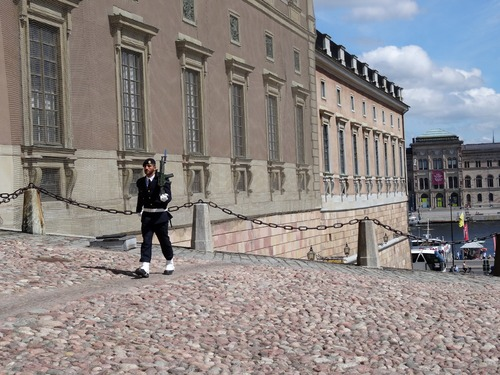 Le palais royal de Stockholm (photos)