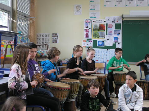 Percussions : 8 et 9 avril