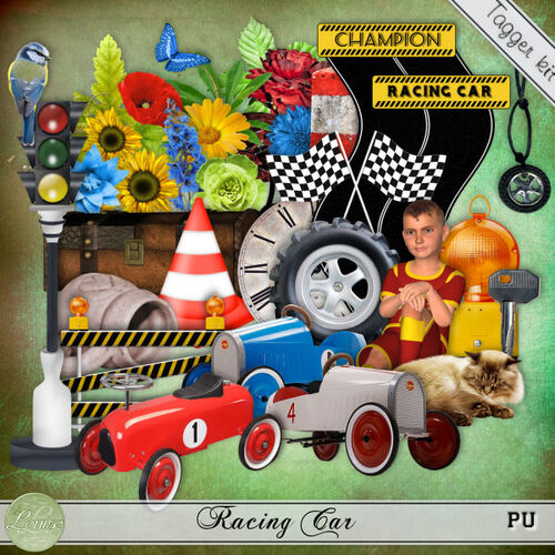 Racing Car - Tagger Kit