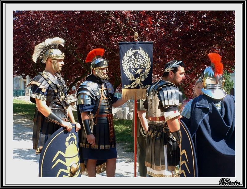 Y sont fous ces romains...