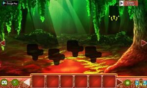 Jouer à Cryptic magical jungle escape