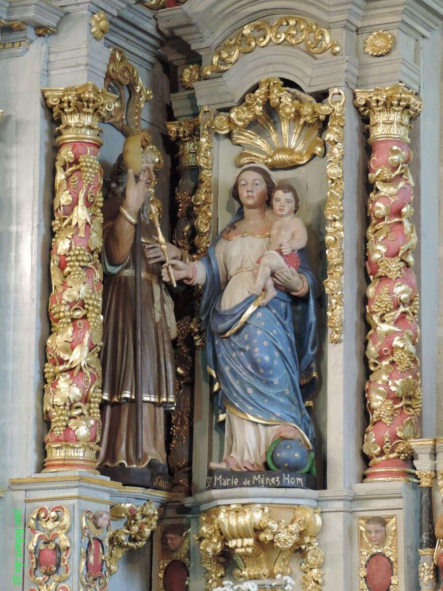la chapelle de Sainte Marie du Menez-Hom