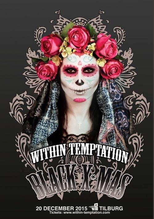 WITHIN TEMPTATION : Vidéo concert complet Black XMas du 20 décembre 2015 aux Pays Bas