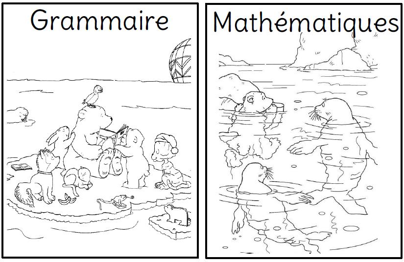 Populaire Mes pages de garde - L'école de Crevette NG64