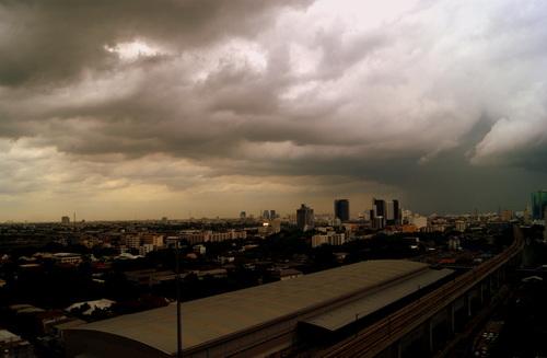Bangkok: prises de vue du 11ème étage