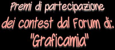 """Ta di partecipazione e premi contest ricevuti dal Forum: """"Graficamia"""" 2019"""