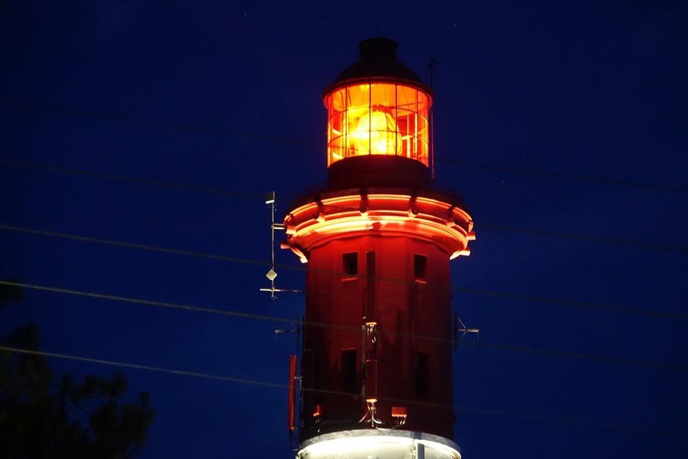 Le phare du Cap-Ferret, de nuit...