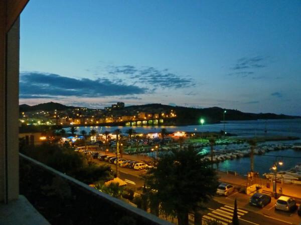Banyuls - Villa Camille de nuit 1