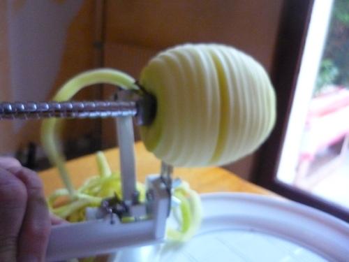 Gâteau invisible pommes et poires à ma façon