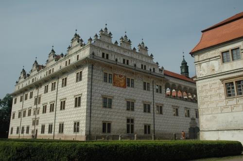 1423 chateau Pernstejn Litomysl
