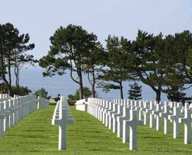 Le cimetière américain de Colleville-sur-mer (DR)