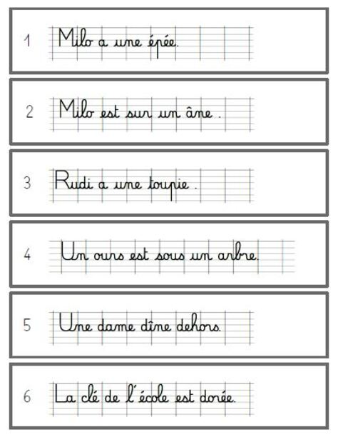 Copie et Dessine version modèle cursif ligné - CP