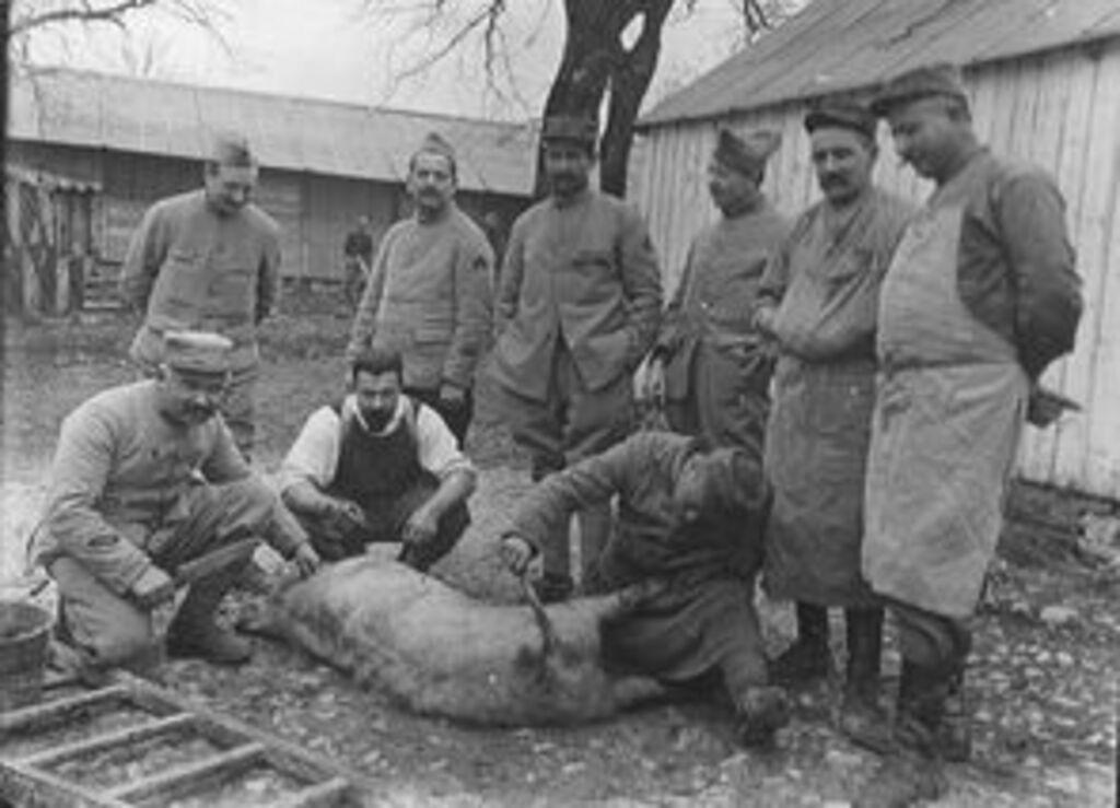 L'alimentation des soldats pendant la grande guerre