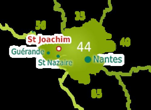 La Maison de la Mariée à Saint Joachim Parc de la Brière