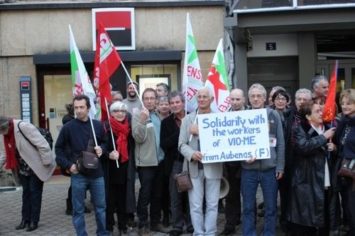 Rassemblement solidarité Grèce 18 mars à Aubenas