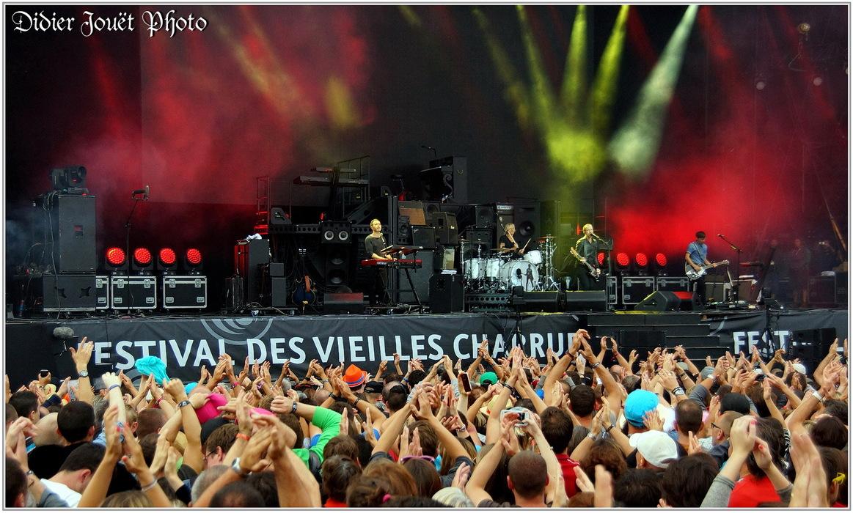 Calogero / Vieilles Charrues 2015