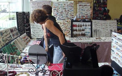 Exposition de mes bijoux au biker's day de SAINT ROCH le 3 juin 2017