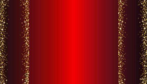 rouge et doré