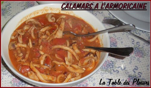 CALAMARS A L'ARMORICAINE