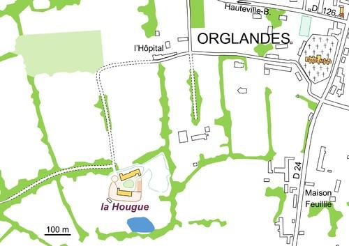 LES REMPARTS D'ORGLANDES (Manche)