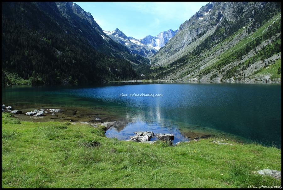 Le lac de Gaube ( hautes Pyrénées )