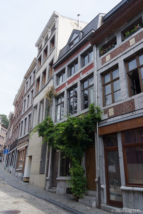 Liège  : on aime les hauteurs...