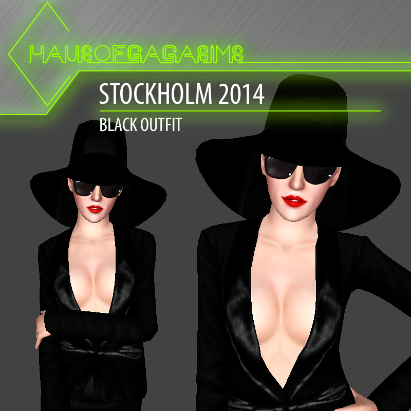 STOCKHOLM 2014 BLACK OUTFIT