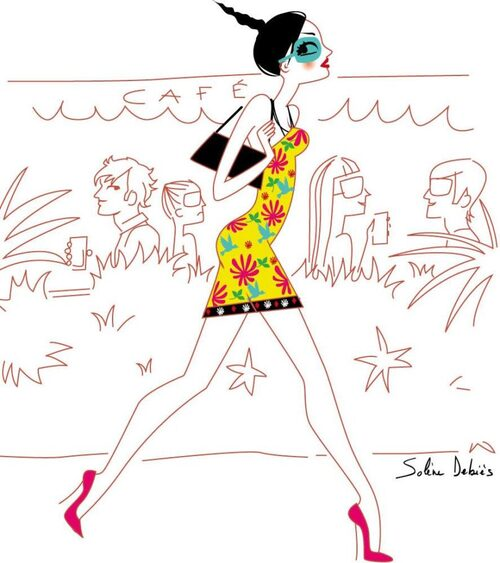 Illustrations de Solène Debiès