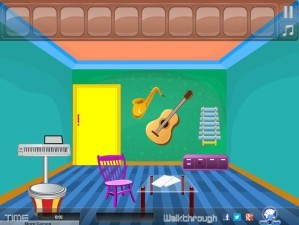 Musical instrument room escape