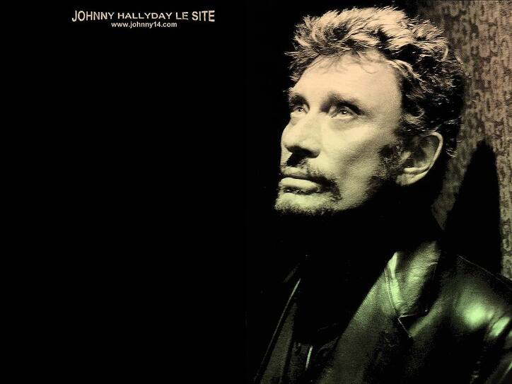 UNE NUIT SANS TOI de Johnny HALLYDAY +(PAROLES  ÉCRITES)