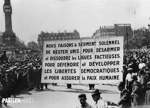 Billet Rouge- En marche… vers la fascisation ? Par Léon Landini et Georges Gastaud